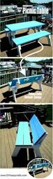 Folding Picnic Table Instructions by This Folding Picnic Table Is The Next Great Thing For That
