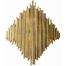 Gold Wall Sconces For Candles Wall Sconce Ideas Large Cuff Bamboo Bars Diamond Shaped Gold