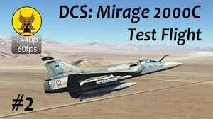 test flight dcs mirage 2000 2 autopilot radar controls