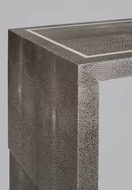 Shagreen Console Table by Going Wild With Reptiles Rose Poulette