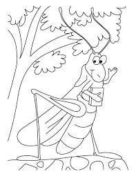 the ant and the grasshopper coloring pages many interesting cliparts
