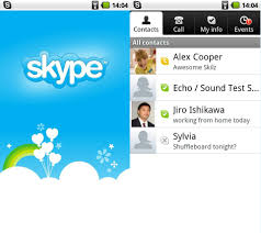 skype apk for android new skype for android unlocks voip 3g wi fi calling eurodroid