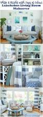 blue livingroom living room makeover reveal the happy housie