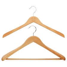 wooden coat hangers oversized natural wooden hangers the