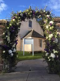 Wedding Arches In Church Three September Weddings Cromarty East Church