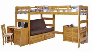 Bunk Bed L Shape Boone Sleeps 3 Or 4 Higher L Shape Loft Bed