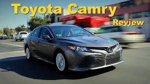 toyota camry 2018 toyota camry review and road test youtube