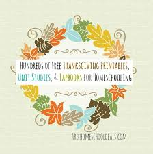 93 best thanksgiving homeschool images on