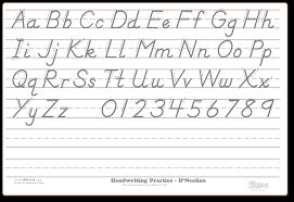 hilyard wende d u0027nealian handwriting