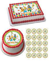caillou birthday cake caillou cake ebay