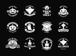 halloween vector art vector badges