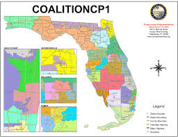 Map Of West Palm Beach Florida Supreme Court Finalizes Congressional Districts Sun Sentinel