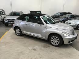 used chrysler pt cruiser convertible for sale motors co uk