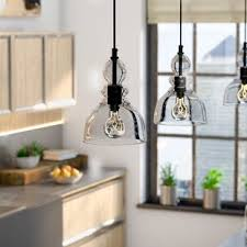 unique diy farmhouse overhead kitchen lights ceiling lights you ll love wayfair