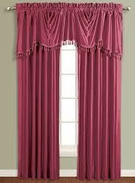 Plum Faux Silk Curtains Lined Drapery Curtains Burgundy United Curtains View
