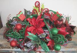 christmas centerpiece holiday wreath deco mesh seasonal gift