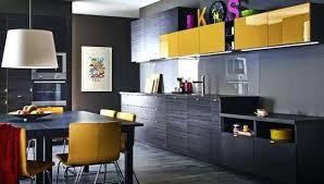 cuisine jaune et grise cuisine jaune et gris idees de design de maison contemporaine
