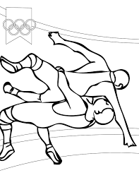 wwe wrestling coloring pages interesting wrestler climbing on the