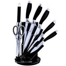 cuisine et ustensiles bloc ustensiles de cuisine pradel 5 couteaux 1 fusil 1 ciseaux