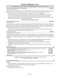 Senior Accountant Resume Format Resume Samples Accounting Professionals Augustais