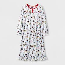 toddler peanuts nightgown white target
