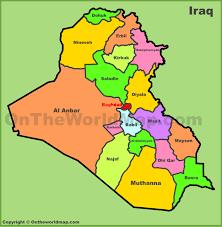 map of irak iraq maps maps of iraq