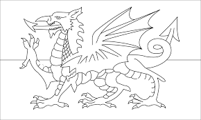 wales flag coloring page png mexican flag eagle coloring page in