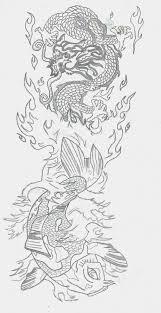 corey tattoo design tattoo images by rhonda flynn koi dragon