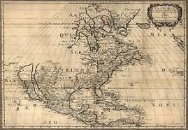 map of united states and canada 1650 map united states canada mexico antique america 24