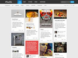 25 best pinterest style wordpress themes 2017 athemes