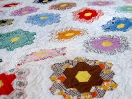 canton village quilt works vintage grandmother u0027s flower garden
