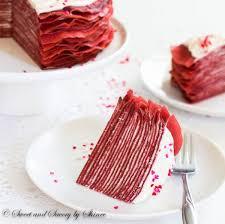 red velvet crepe cake sweet u0026 savory by shinee
