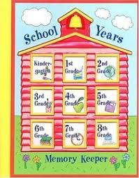 school memories album school years memory keeper unknown author 0785391622