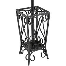 scrolled coat rack and umbrella stand 6408579 hsn