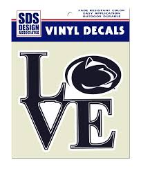 penn state alumni sticker penn state large logo decal souvenirs stickers and decals
