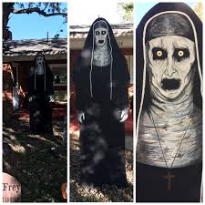diy valak from the conjuring 2 outdoor halloween decoration hand