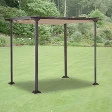 Replacement Pergola Canopy by Hampton Bay Pergola With Canopy Pergola Gazebo Ideas