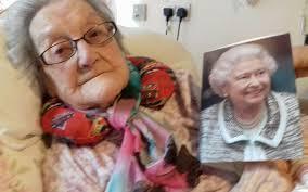 bishop congratulates stella on her 100th birthday the church of