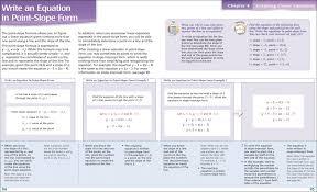 math love point slope form foldable worksheet 103 vawebs