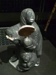 Inuit Soapstone Sculpture File National Museum Of Ethnology Osaka Soapstone Carving
