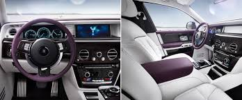 rolls royce interior 2017 rolls royce unveils the 2018 phantom