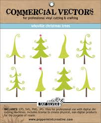 Commercial Christmas Decoration Supplies by Commercial Vectors Whoville Christmas Trees 16 00