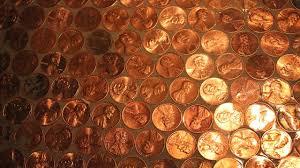 Bathroom Floor Pennies The Penny Floor Video Youtube