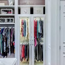 Wardrobe Cabinet With Shelves Walk In Closet Window Seat Flanked By Shoe Shelves Transitional