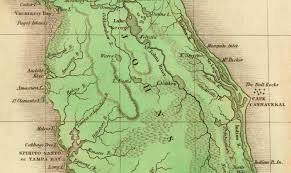 Central Florida Map by File Lake Valdez Now Lake Monroe Florida 1826 Jpg Wikimedia