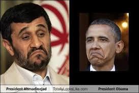 Obama Face Meme - president ahmadinejad totally looks like president obama totally