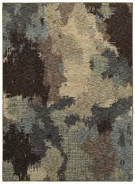 Blue Brown Area Rugs Weavers Evolution 8011b Blue Brown Area Rug Carpetmart