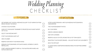 thanksgiving planning guide printable 11 free printable checklists for your wedding timeline