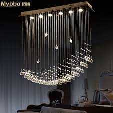 Crystal Ship Chandelier Aliexpress Com Buy Free Shipping Simple Fashion Modern Led Moon