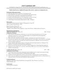 Resume For A First Job by Immigration Officer Resume Resume For Your Job Application